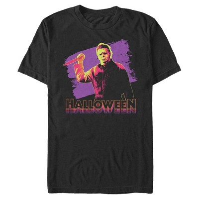 Men's Halloween II Retro Glitch T-Shirt