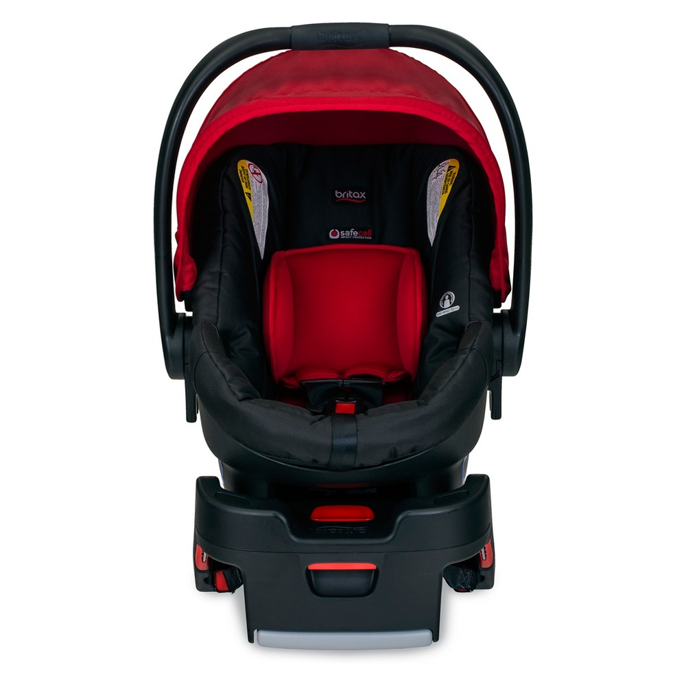 Image of Britax B-Safe 35 Infant Car Seat - Cardinal, Red