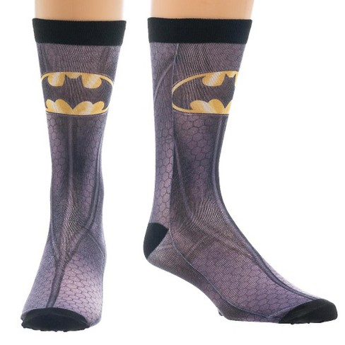 DC Comics Sublimated Socks Assortment - image 1 of 2