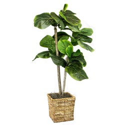 "Artificial Tree - Green - 38"" - LCG Florals"
