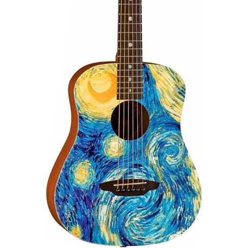 Luna Guitars Safari Starry Night 3/4 Size Travel Acoustic Guitar - image 1 of 4
