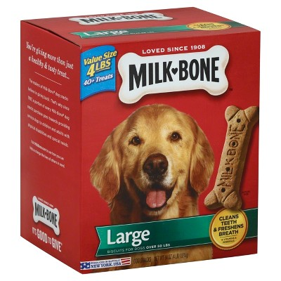 Dog Treats: Milk-Bone Original Biscuits Large