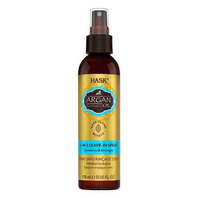 Hask Argan Oil Conditions & Detangles Leave-In Spray - 6 fl oz