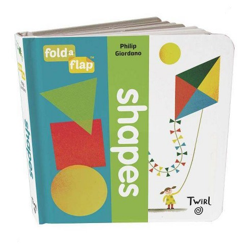 Fold-A-Flap: Shapes - (Board_book) - image 1 of 1