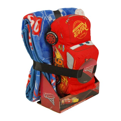 Cars® Lightning McQueen Throw Blanket & Pillow Buddy - image 1 of 2