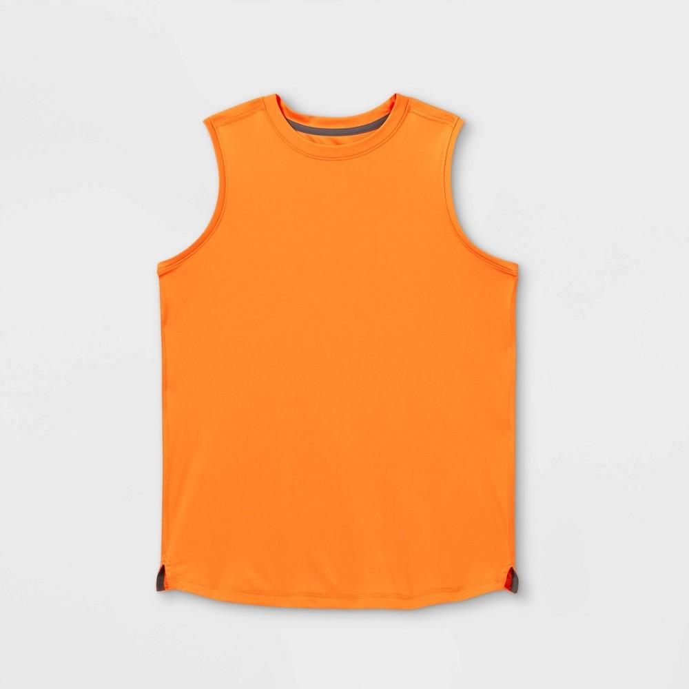 Boys 39 Sleeveless Tech T Shirt All In Motion 8482 Orange M