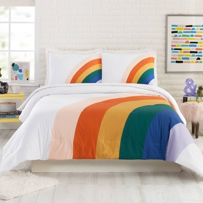 Rainbow Comforter Set - Ampersand for Makers Collective