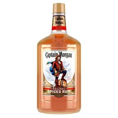 Captain Morgan Spiced Rum - 1.75L Bottle