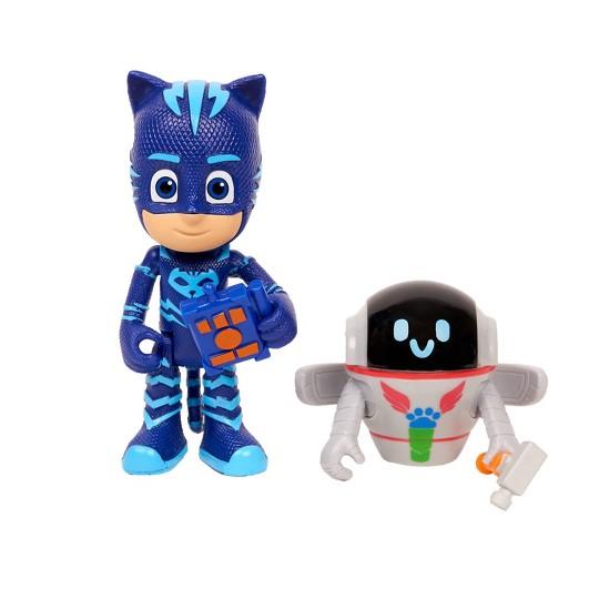 Disney PJ Masks Villains And Hero - Catboy And PJ Robot image number null