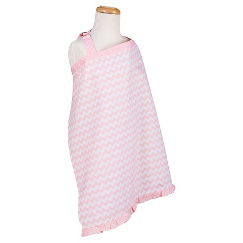 Trend Lab Pink Sky Chevron Nursing Cover - Pink - image 1 of 1