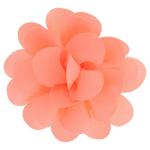 Girls' Charlotte Bow Shaped Clip - Moxie Peach One Size - image 1 of 3