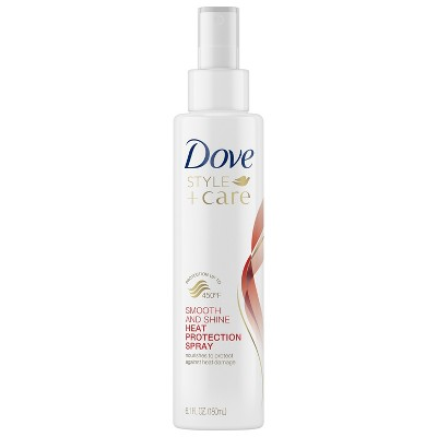 Hair Styling: Dove Style+Care Heat Protect Spray