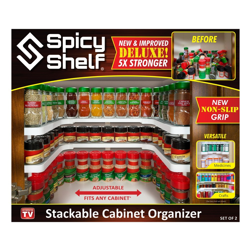 Image of Spice Rack White - Spicy Shelf