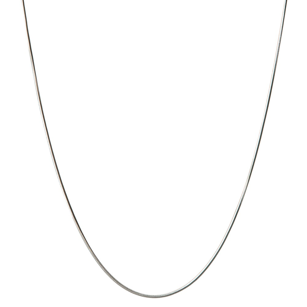 Sterling Silver Snake Chain - 18