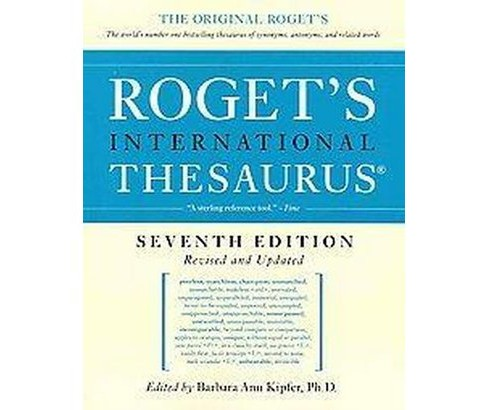 Roget's International Thesaurus (Revised / Updated) (Paperback) - image 1 of 1