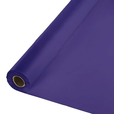 Purple Table Cover Roll