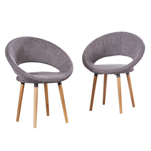 Set of 2 Keegan Dining Chair - Christopher Knight Home - image 1 of 4