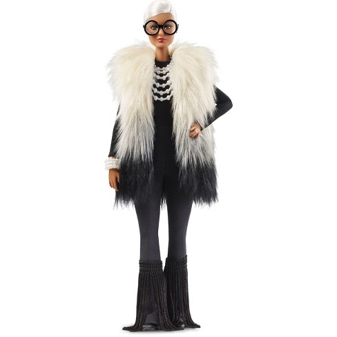 Barbie Collector Styled by Iris Apfel Doll with Multi-Hued Vest - image 1 of 9