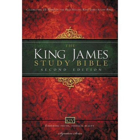 Study Bible-KJV - 2 Edition by  Thomas Nelson (Hardcover) - image 1 of 1