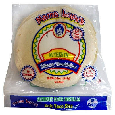 Mama Lupe's Taco Size Authentic Flour Tortillas - 36oz/24ct