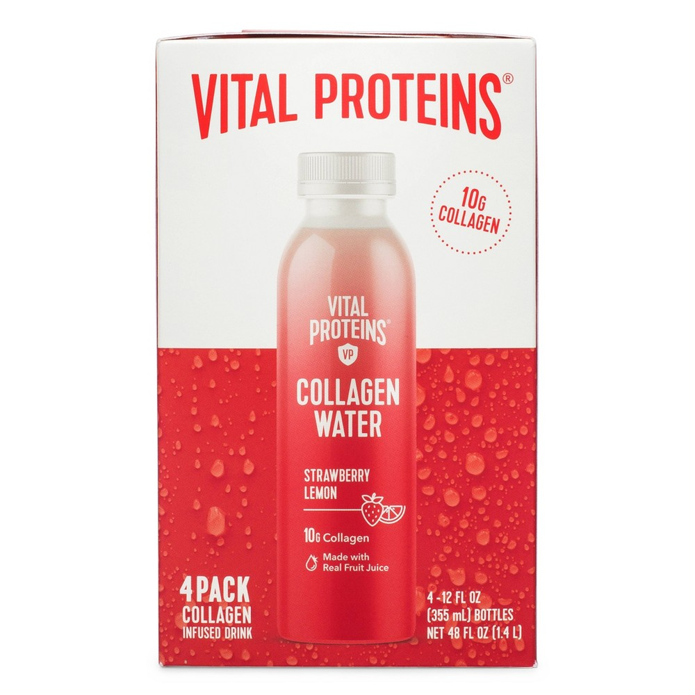 Image of Vital Proteins Strawberry Lemon Dietary Supplements - 4pk