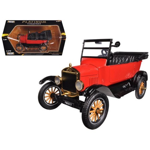 1925 Ford Model T Touring Red 1/24 Diecast Model Car by Motormax - image 1 of 1