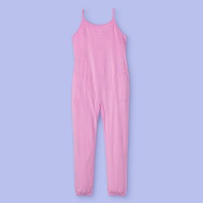 Girls' Pajama Romper - More Than Magic™ Pink