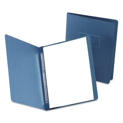 """Oxford Paper Report Cover Large 2 Prong Fastener Letter 3"""" Capacity Dk Blue 25/Box 5730123"""