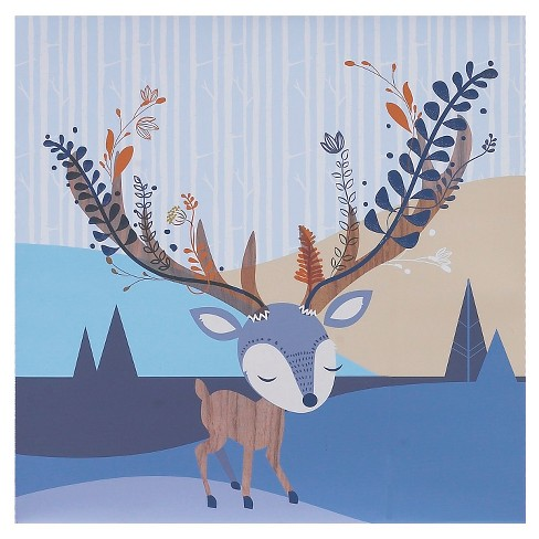 "Lolli Living Deer Head Canvas Art (15""x15"") - image 1 of 1"