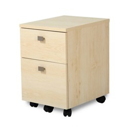 Interface 2 Drawer Mobile File Cabinet - South Shore