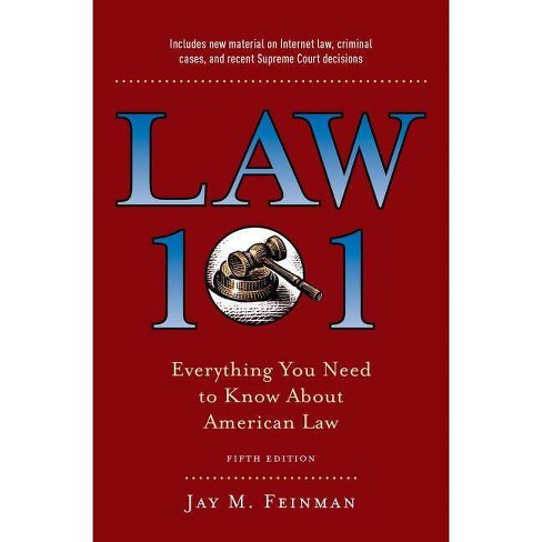 Law 101 - 5th Edition by  Jay M Feinman (Hardcover) - image 1 of 1