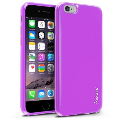 Insten Jelly TPU Slim Gel Rubber Cover Case For Apple iPhone 6 6S
