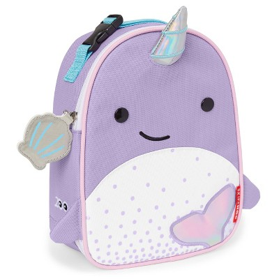 Skip Hop Zoo Little Kids' & Toddler Insulated Lunch Bag - Narwhal