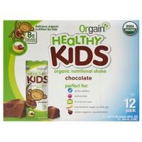 2 Orgain Kids Organic Nutritional Protein Shake Chocolate 12ct Deals