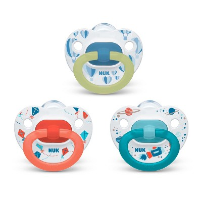 Nuk Pacifier 3pk Sz2 Value Pack - Assorted