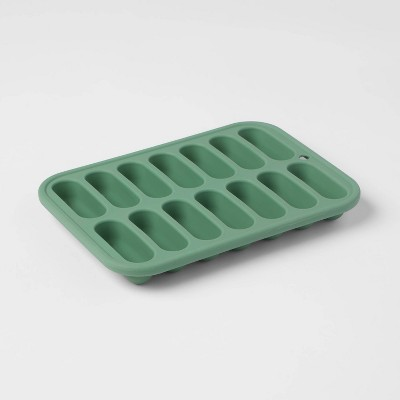 Silicone Ice Cube Tray Green - Room Essentials™