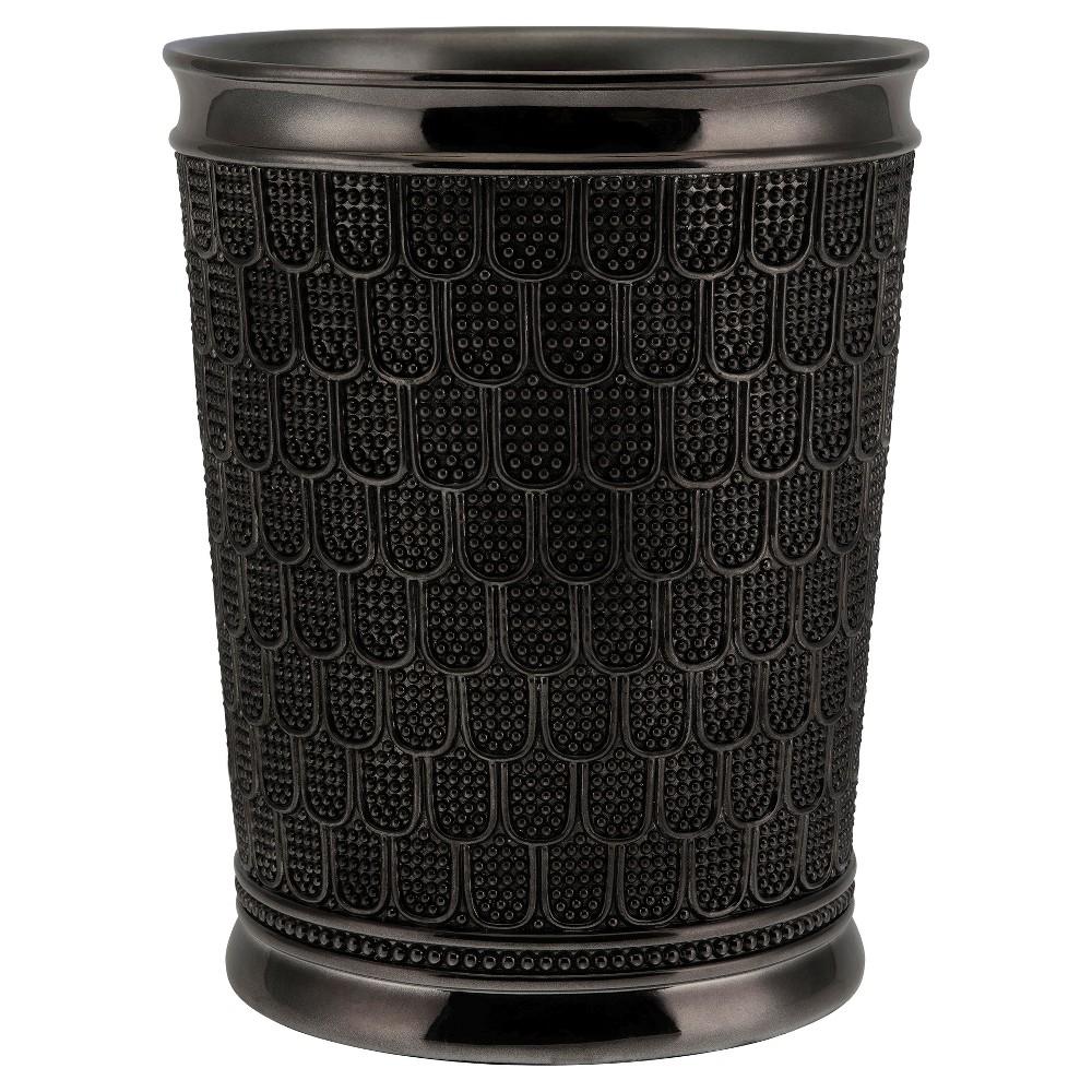 Image of Chatelaine Wastebasket Gunmetal - Allure