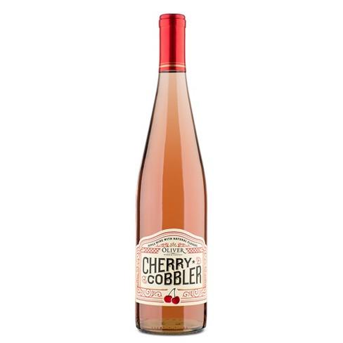 Oliver Cherry Cobbler Fruit Wine -750ml Bottle