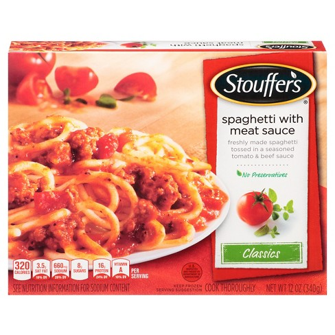 Stouffer's Spaghetti with Meat Sauce - 12oz - image 1 of 1