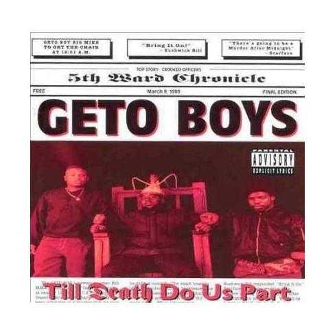 Geto Boys - Til Death Do Us Part (Vinyl) - image 1 of 1