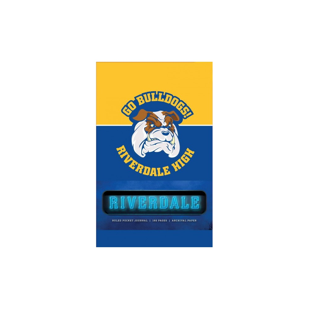 Riverdale Ruled Pocket Journal - (Hardcover)