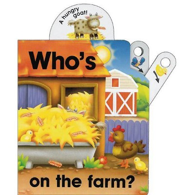 Who's on the Farm? - by Nicola Baxter (Board_book)
