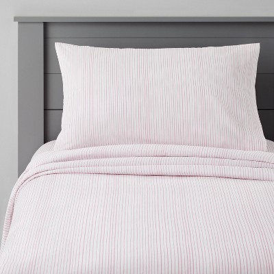 Cotton Striped Sheet Set - Pillowfort™