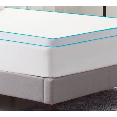 Comfort Revolution Mattress Topper Cover - White