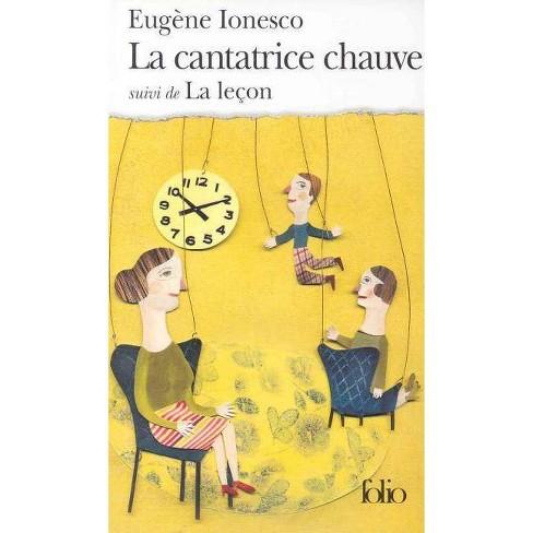 Cantatrice Chauv Lecon - (Collection Folio) by  Eugene Aonesco & Eugene Ionesco (Paperback) - image 1 of 1