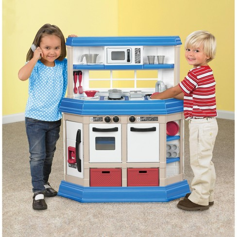 American Plastic Toy Cooking Kitchen