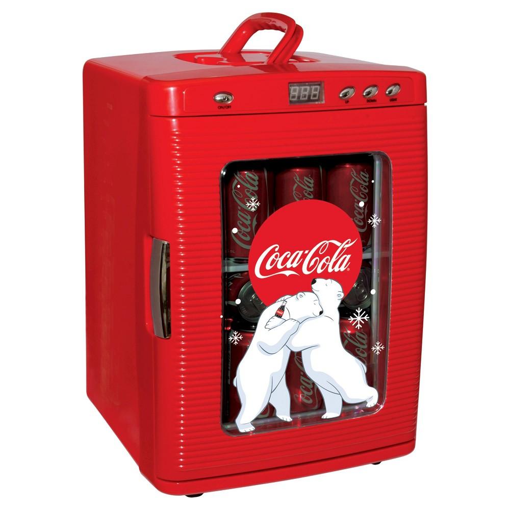 Koolatron Coca-Cola Refrigerator - Red KWC25