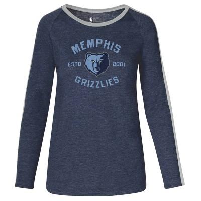 NBA Memphis Grizzlies Women's Team Shoulder Stripe Sweatshirt