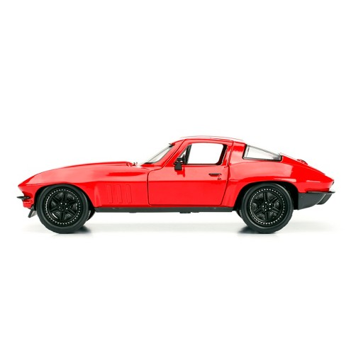 The Fast and the Furious Diecast Vehicle - 1966 Chevy Corvette - 1:24 Scale - image 1 of 2
