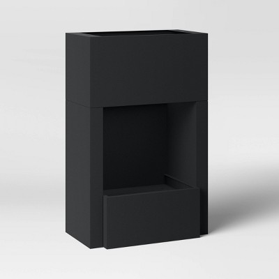 """60"""" Steel Wood Burning Outdoor Fire Place - Bond"""